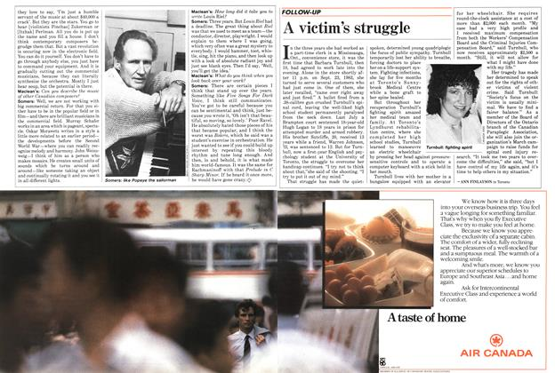 Article Preview: A victim's struggle, March 1986 | Maclean's