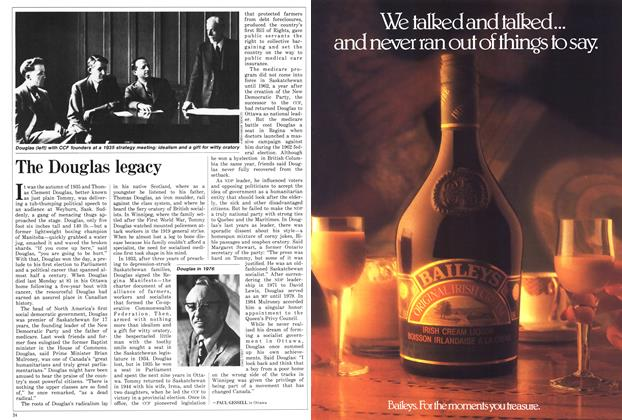 Article Preview: The Douglas legacy, March 1986 | Maclean's