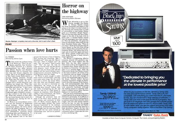 Article Preview: Passion when love hurts, March 1986 | Maclean's