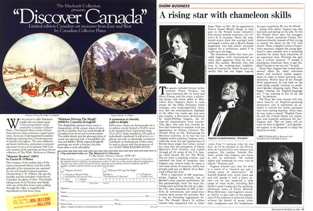 Article Preview: A rising star with chameleon skills, March 1986 | Maclean's
