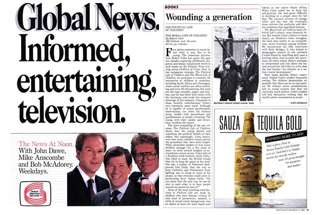 Article Preview: Wounding a generation, March 1986 | Maclean's