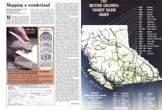 Article Preview: Mapping a wonderland, March 1986 | Maclean's