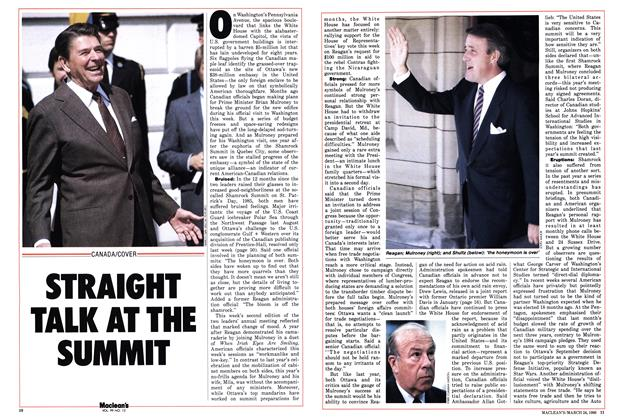 Article Preview: STRAIGHT TALK AT THE SUMMIT, March 1986 | Maclean's