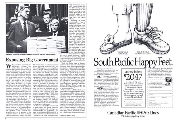 Article Preview: Exposing Big Government, March 1986 | Maclean's