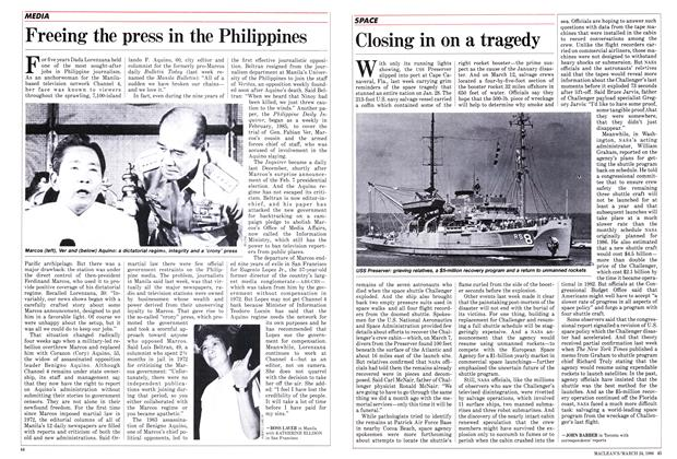 Article Preview: Freeing the press in the Philippines, March 1986 | Maclean's
