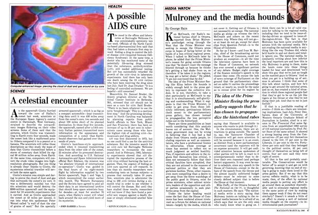 Article Preview: Mulroney and the media hounds, March 1986 | Maclean's