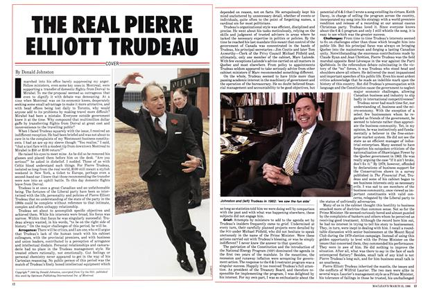 Article Preview: THE REAL PIERRE ELLIOTT TRUDEAU, March 1986 | Maclean's