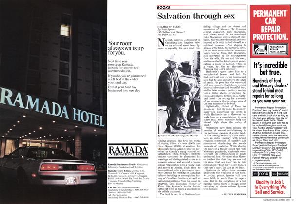 Article Preview: Salvation through sex, March 1986 | Maclean's
