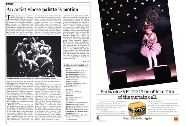 Article Preview: MACLEAN'S BEST SELLER LIST, March 1986   Maclean's