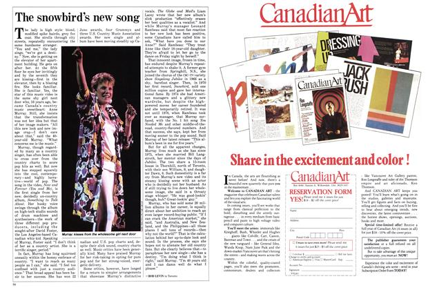 Article Preview: The snowbird's new song, April 1986 | Maclean's