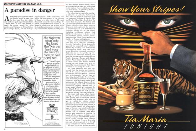 Article Preview: A paradise in danger, April 1986 | Maclean's