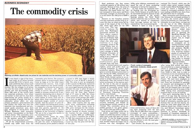 Article Preview: The commodity crisis, April 1986 | Maclean's