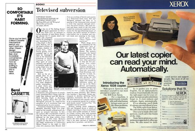 Article Preview: Televised subversion, April 1986 | Maclean's