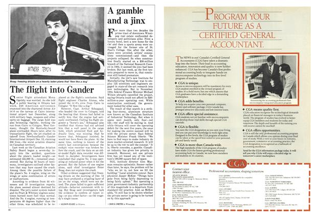 Article Preview: A gamble and a jinx, April 1986 | Maclean's