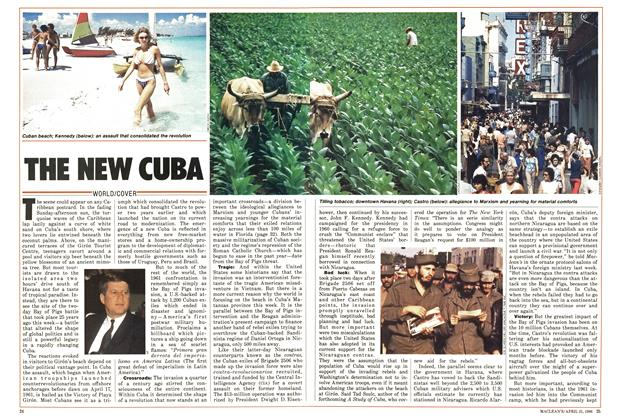 Article Preview: THE NEW CUBA, April 1986 | Maclean's