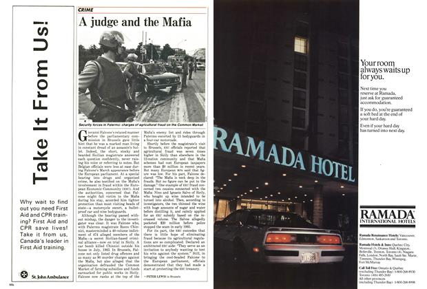 Article Preview: A judge and the Mafia, April 1986 | Maclean's