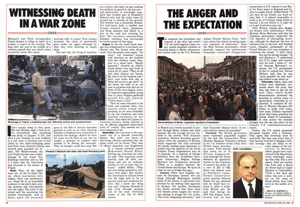 Article Preview: THE ANGER AND THE EXPECTATION, April 1986 | Maclean's