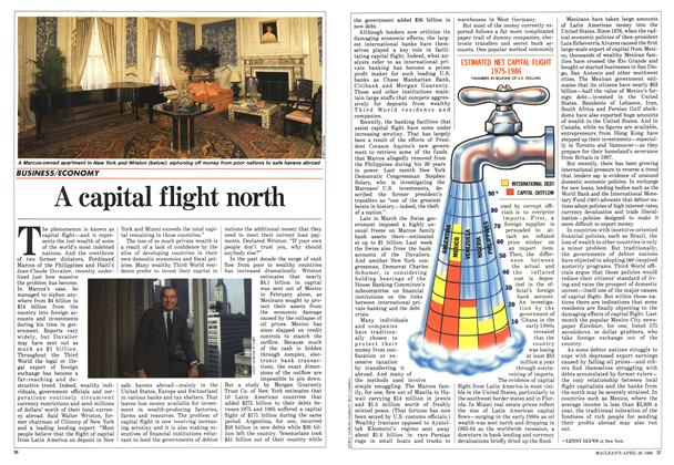 Article Preview: A capital flight north, April 1986 | Maclean's
