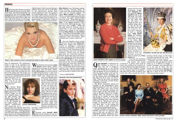 Article Preview: The Queen at 60, April 1986 | Maclean's