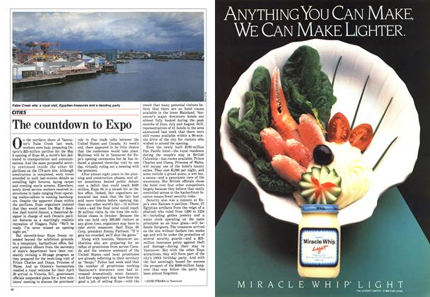 Article Preview: The countdown to Expo, April 1986 | Maclean's