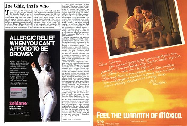 Article Preview: Joe Ghiz, that's who, May 1986 | Maclean's