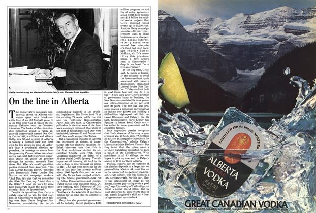 Article Preview: On the line in Alberta, May 1986 | Maclean's