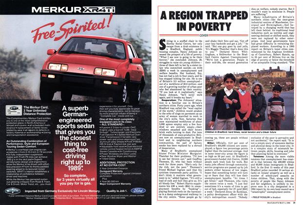Article Preview: A REGION TRAPPED IN POVERTY, May 1986   Maclean's