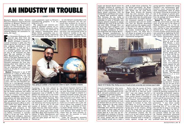 Article Preview: AN INDUSTRY IN TROUBLE, May 1986 | Maclean's