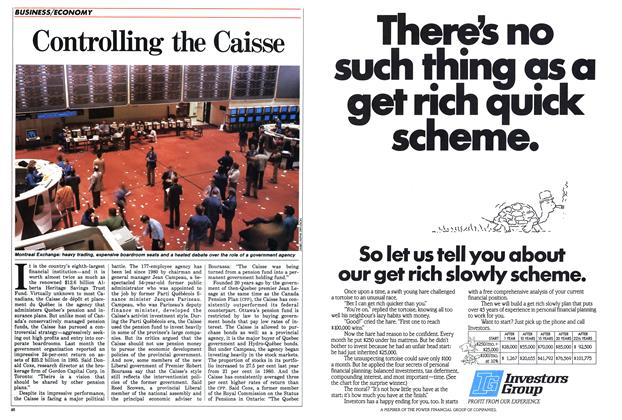 Article Preview: Controlling the Caisse, May 1986 | Maclean's