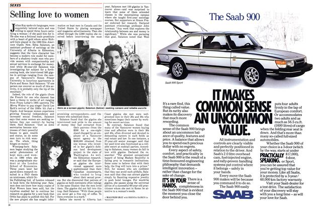 Article Preview: Selling love to women, May 1986 | Maclean's