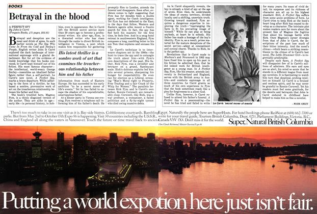 Article Preview: Betrayal in the blood, May 1986 | Maclean's