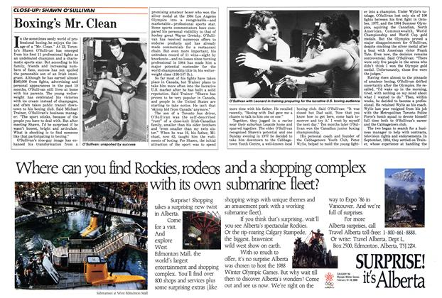 Article Preview: Boxing's Mr. Clean, May 1986 | Maclean's
