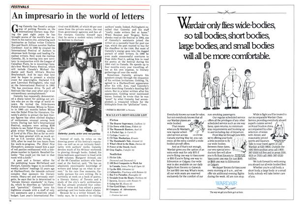 Article Preview: An impresario in the world of letters, May 1986 | Maclean's