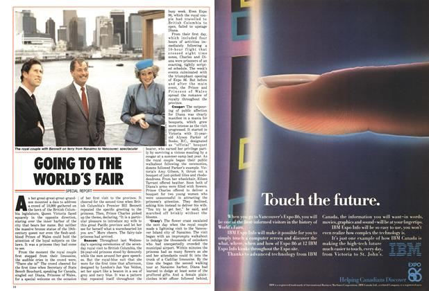 Article Preview: GOING TO THE WORLD'S FAIR, MAY 12,1986 1986 | Maclean's