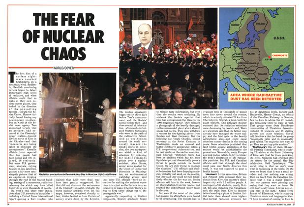 Article Preview: The fear of nuclear chaos, MAY 12,1986 1986 | Maclean's