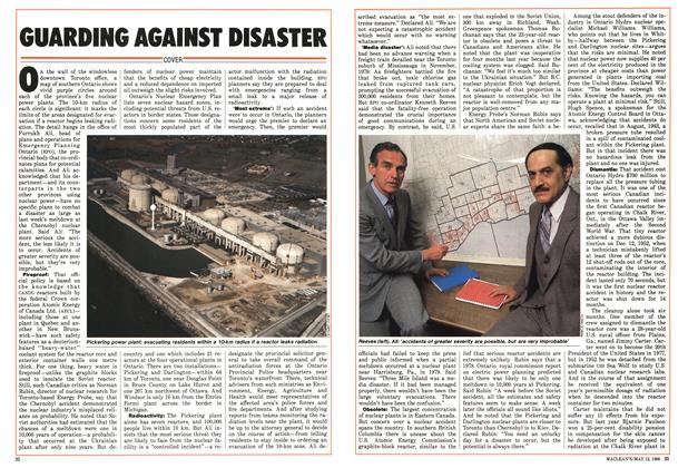 Article Preview: GUARDING AGAINST DISASTER, MAY 12,1986 1986 | Maclean's