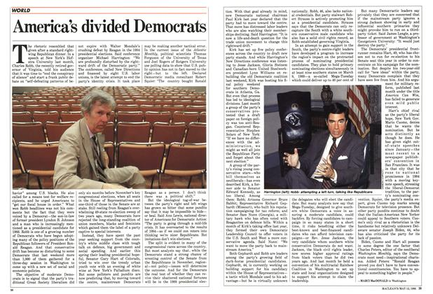 Article Preview: America's divided Democrats, MAY 12,1986 1986 | Maclean's