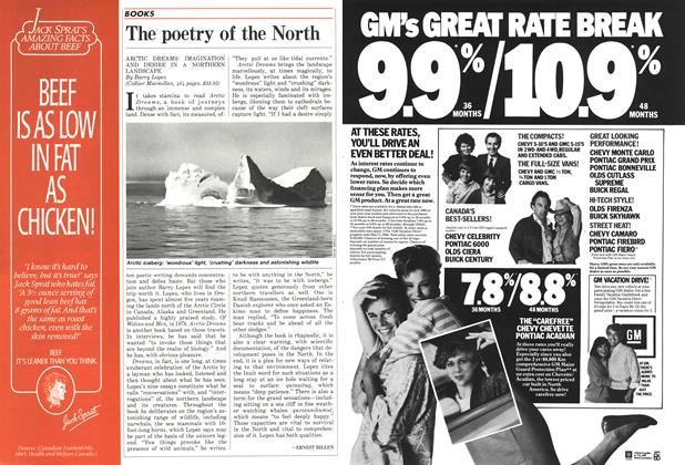 Article Preview: The poetry of the North, MAY 12,1986 1986 | Maclean's