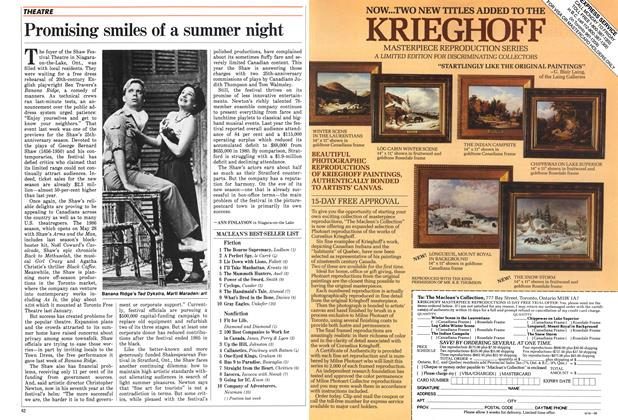 Article Preview: Promising smiles of a summer night, MAY 12,1986 1986 | Maclean's