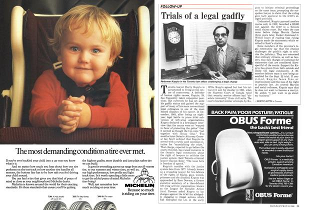 Article Preview: Trials of a legal gadfly, MAY 12,1986 1986 | Maclean's
