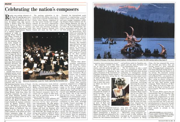 Article Preview: Celebrating the nation's composers, May 1986 | Maclean's
