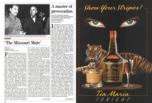 Article Preview: A master of provocation, May 1986 | Maclean's