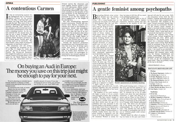 Article Preview: A contentious Carmen, May 1986 | Maclean's