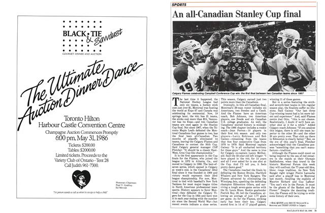 Article Preview: An all-Canadian Stanley Cup final, May 1986 | Maclean's