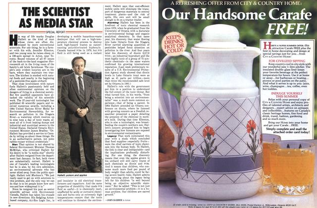 Article Preview: THE SCIENTIST AS MEDIA STAR, May 1986 | Maclean's