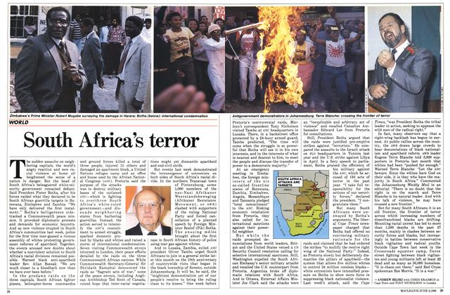 Article Preview: South Africa's terror, June 1986 | Maclean's