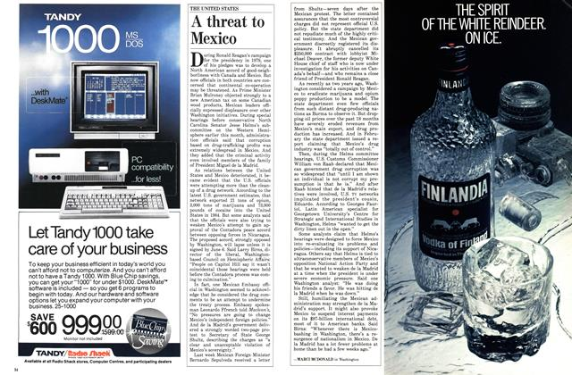 Article Preview: A threat to Mexico, June 1986 | Maclean's