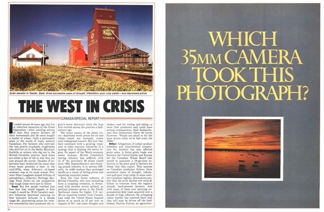 Article Preview: THE WEST IN CRISIS, June 1986 | Maclean's