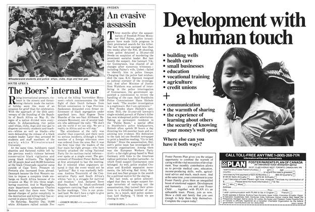 Article Preview: The Boers' internal war, June 1986   Maclean's