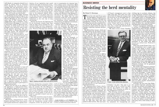Article Preview: Resisting the herd mentality, June 1986 | Maclean's